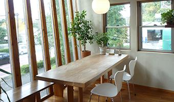 木匠工務店の打ち合わせスペース